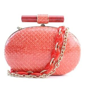 Snakeskin Calista Crossbody 8MR0215